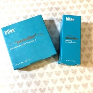 Bliss Foundation Powder & Balancing Stick in Shell